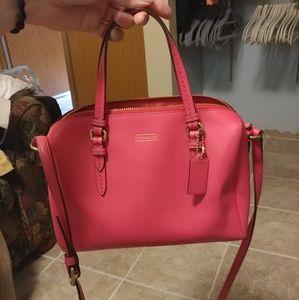 Coach Crossbody Bowery Bag Pink